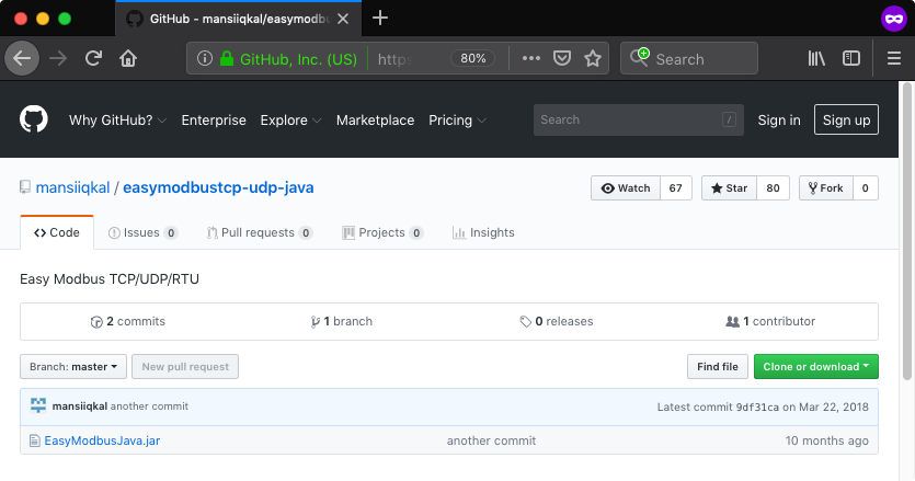 GitHub - mansiiqkal_easymodbustcp-udp-java