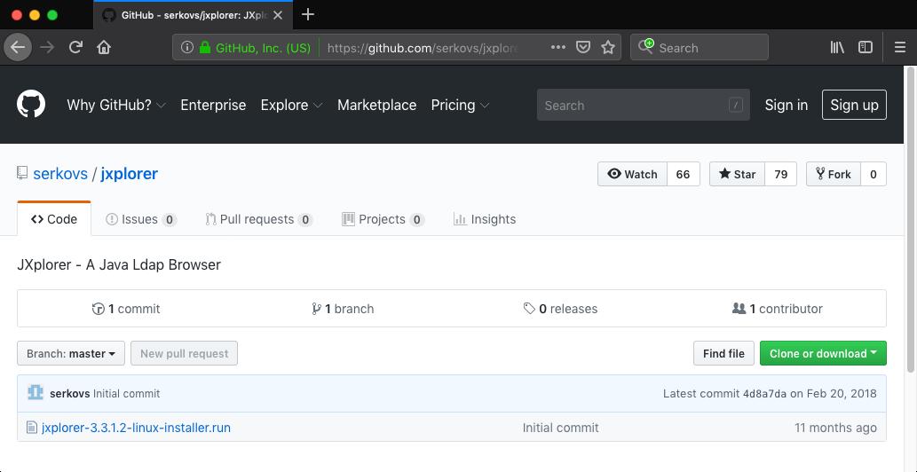 GitHub - serkovs_jxplorer
